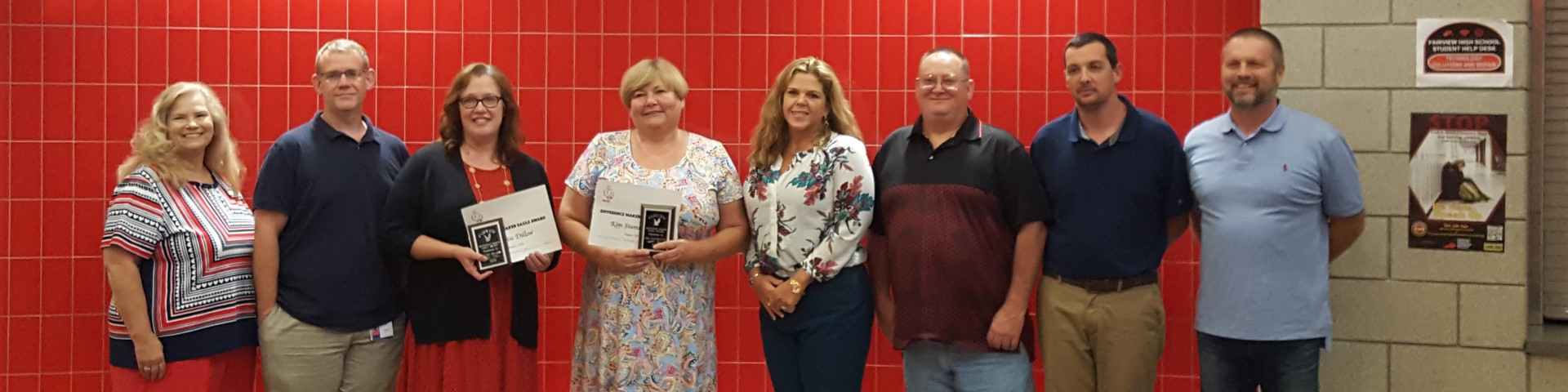 August #DifferenceMaker Award Recipients Denise Dillow and Kim Stambaugh