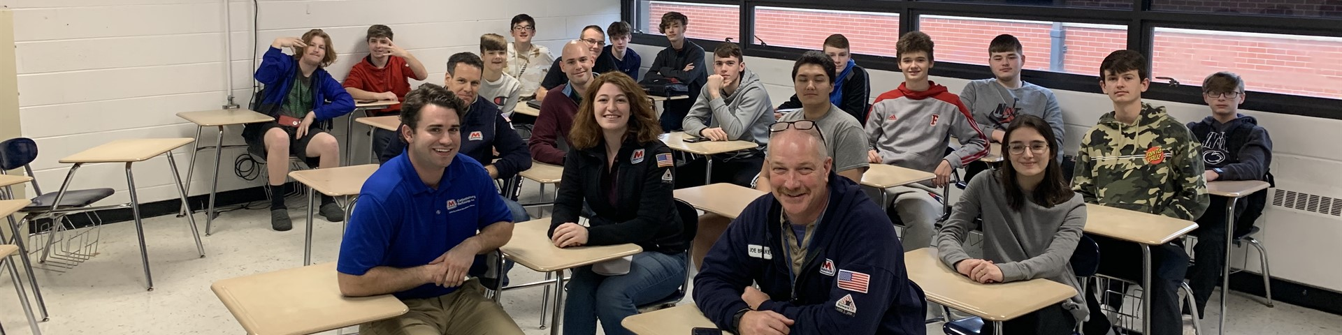 Engineering Class with Marathon Guest Speakers