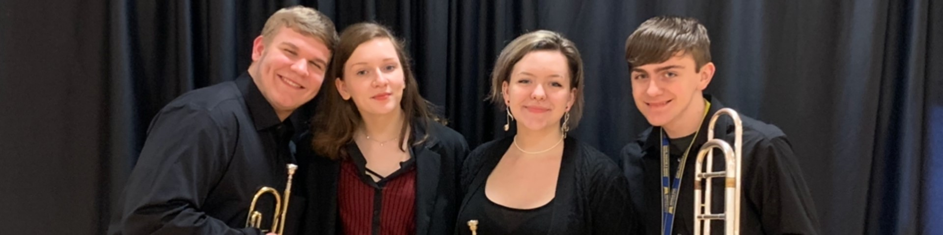 Fairview Students participated in 2020 Morehead State University High School Honor Band Festival