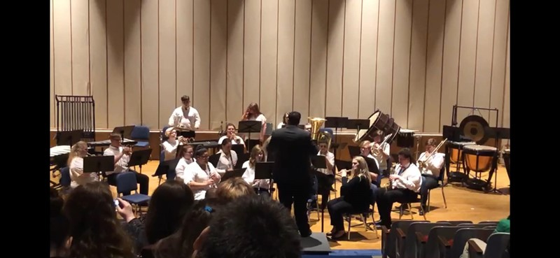 Fairview High School Band at Morehead State University