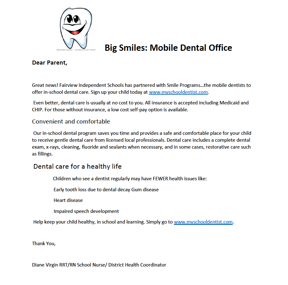 Big Smiles Mobile Dental office