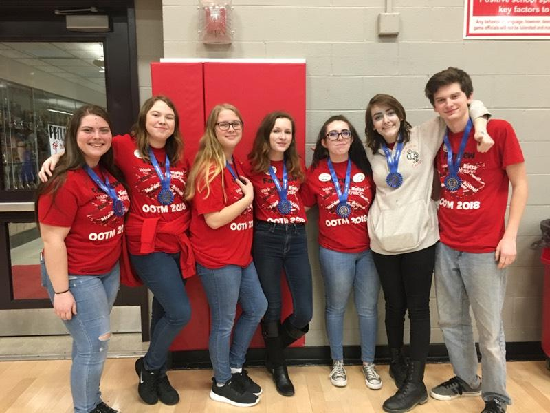 HS Odyssey of the Mind Regional Champs